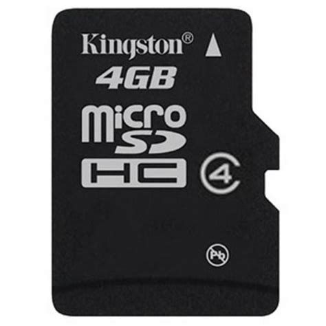Memory Card Microsd 4gb kingston microsdhc 4gb