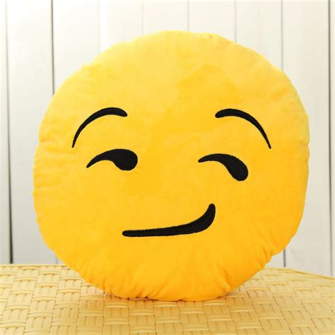 Emoticon Pillow by 32cm Soft Emoji Smiley Emoticon Cushion Pillow Stuffed Plush Gift Ebay