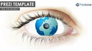 Eye Template by See The World Prezi Template Prezibase