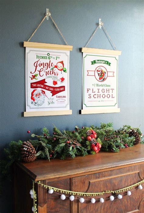 printable vintage christmas decorations remodelaholic 150 christmas ideas decorations