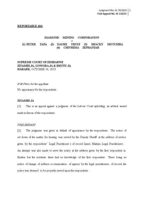 week court notice letter templates
