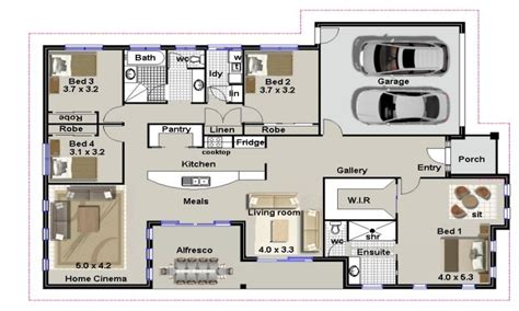 residential house plans 4 bedroom house plans residential house plans 4 bedrooms