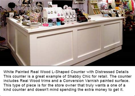 custom specialty retail counters reception consultation