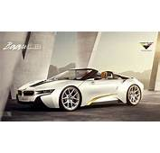 Vorsteiner Previews BMW I8 Spyder Upgrade Kit  Motorward