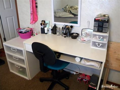 shabby makeup and more new makeup desk