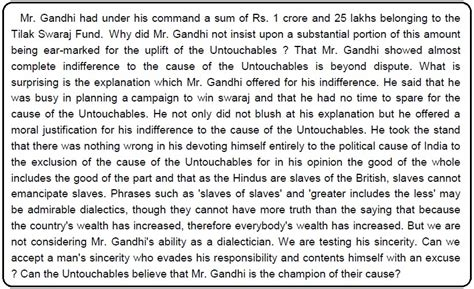 what congress and gandhi done to the untouchables books banned book what congress and gandhi done to