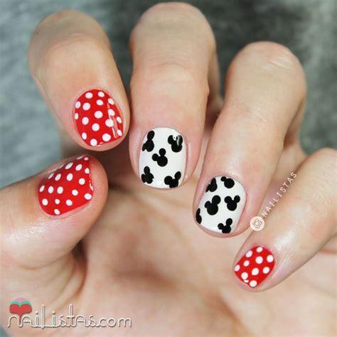 imagenes de uñas bonitas y faciles las 25 mejores ideas sobre u 241 as de mickey mouse en