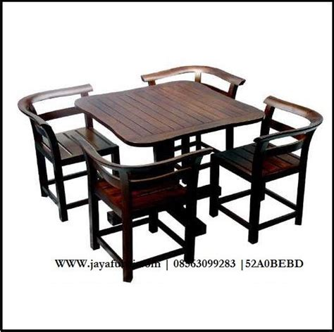 Best Quality Set Pita Hitam 16 best jual meja makan minimalis panjang dengan 4 kursi bahan images on diner table