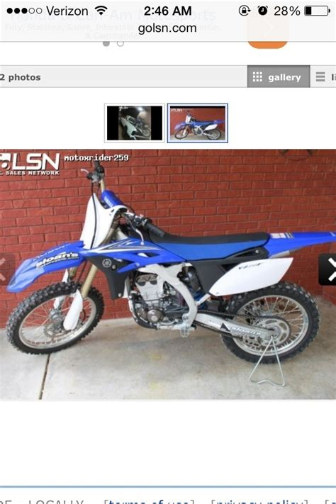Motocross Bikes For Sale In Manchester Tennessee