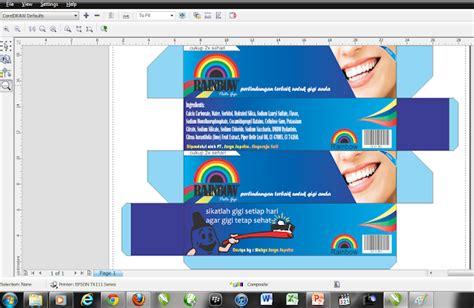 desain kemasan produk dengan coreldraw x5 cara membuat desain kemasan di coreldraw