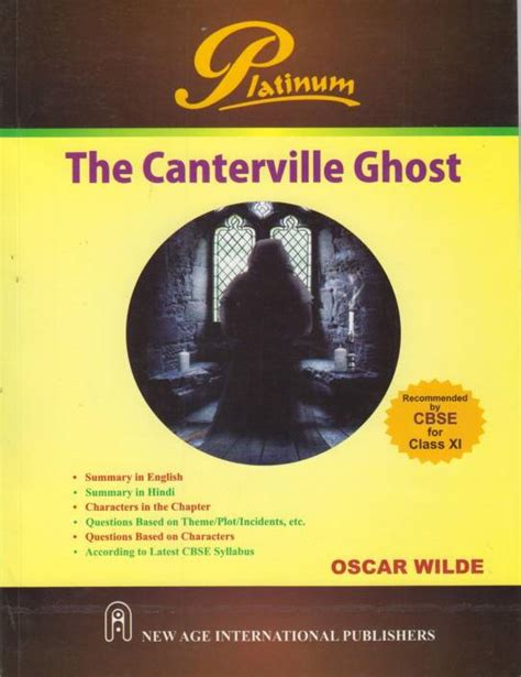 the canterville ghost book 8468250244 cbse the canterville ghost class 11 1st edition buy cbse the canterville ghost class 11