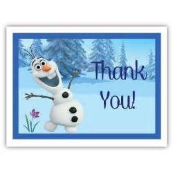 7 best images of olaf free printable thank you tags olaf thank you tag printable frozen