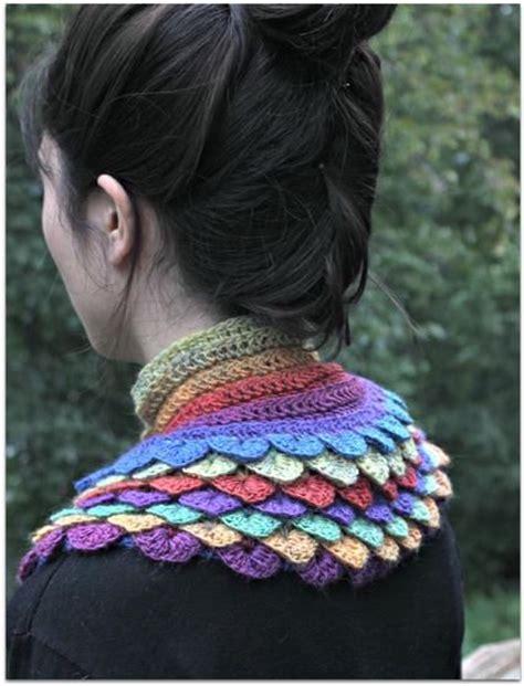 crocodile stitch knit pattern crocodile stitch crochet cowl knitting patterns and