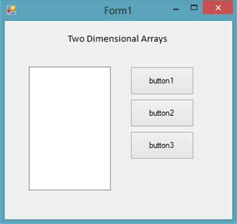 delphi tutorial array two dimensional arrays in c net free source code