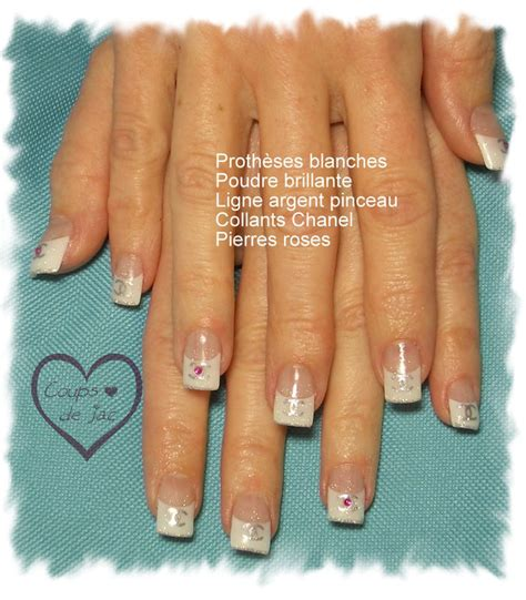 prothese ongle fantaisie modele pose d ongle les tendances chez la dco ongles