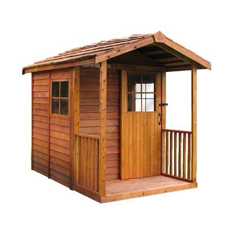 cedar shed gardeners delight shed lowes canada