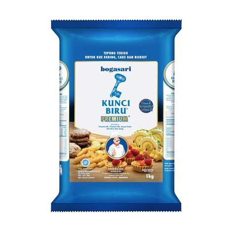 Tepung Terigu Beruang Biru 1kg jual bogasari tepung terigu kunci biru 1000 g