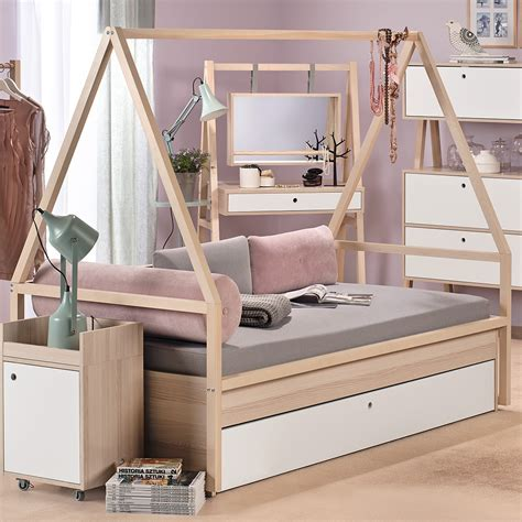 teepee bed spot kids tipi bed trolley with trundle drawer single beds cucko