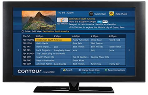 cox cable packages cox tv packages channel lineup