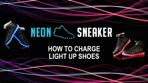 how to charge light up shoes how to charge light up shoes neon sneaker