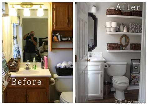 diy bathroom makeover ideas inspiring before and after bathroom makeover diy cozy home