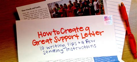 How Do You Write A Support Letter For Immigration How To Create A Great Support Letter Youthworks