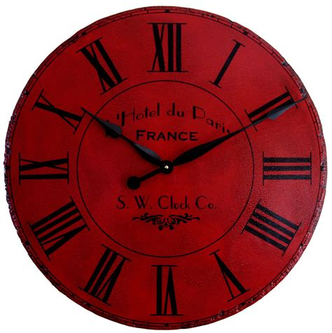 large wall clocks 36 in large wall clock paris hotel roman round by klocktime