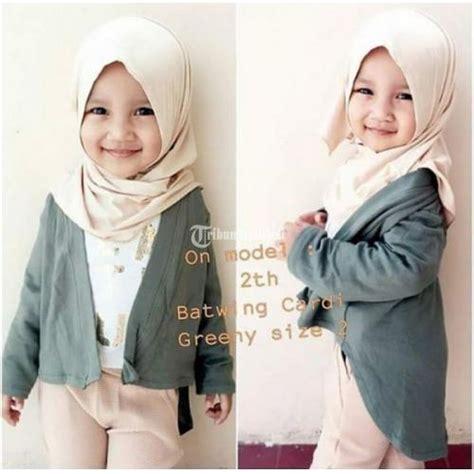 Outer Murah Shafa Cardi baju outer batwing cardigan anak balita perempuan murah 100k 3pcs ciledug dijual tribun