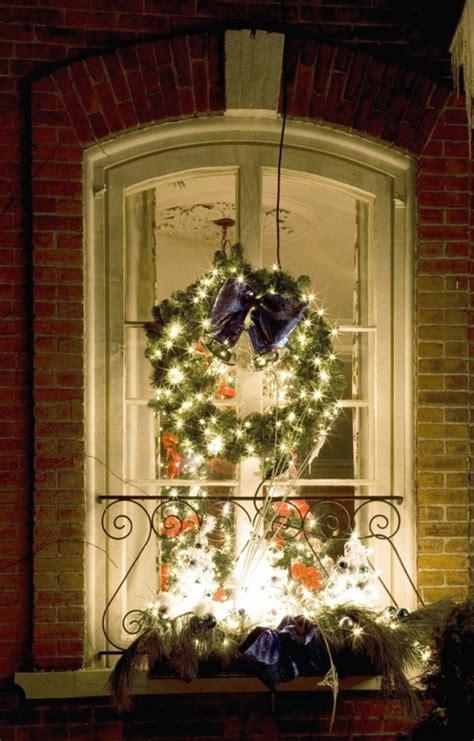 Fensterdeko Weihnachten Kranz by Fensterdeko Weihnachten Tolle Und Einfache Last Minute Ideen