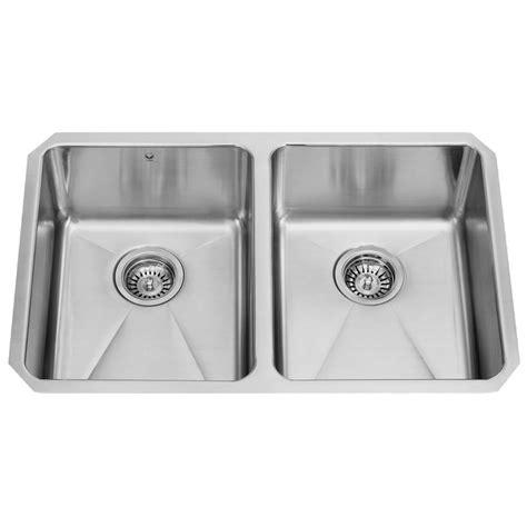 vigo kitchen sink vigo undermount stainless steel 29 in basin