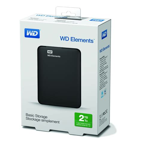 Hardisk Hdd External Wd Elements 2tb Usb 3 0 wd 2tb elements portable external drive usb 3 0 hdd