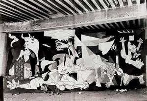 The light bulb is the sun the metamorphosis of quot guernica quot