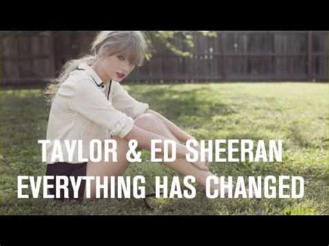 everything has changed taylor swift album name taylor swift everything has changed lyrics