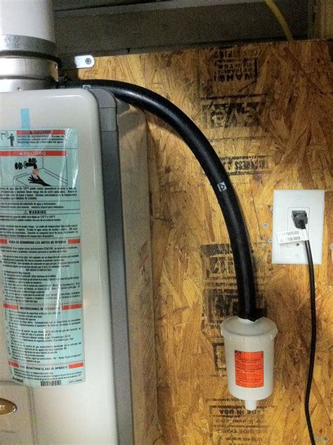 water heater drain pipe lowes tankless hot water heater installation