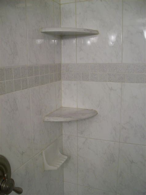 Porcelain Corner Shower Shelf by 30 Great Pictures And Ideas Of Decorative Ceramic Tiles