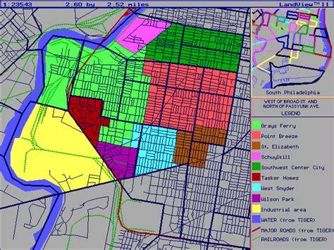 philadelphia neighborhood map map of northeast philadelphia neighborhoods swimnova