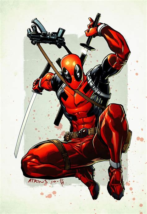deadpool the deadpool by robert atkins deadpool