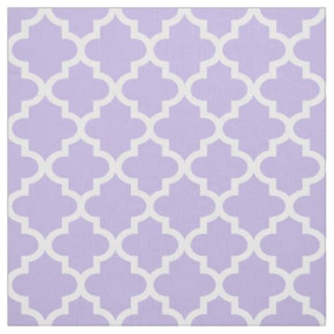pattern purple fabric purple quatrefoil fabric zazzle