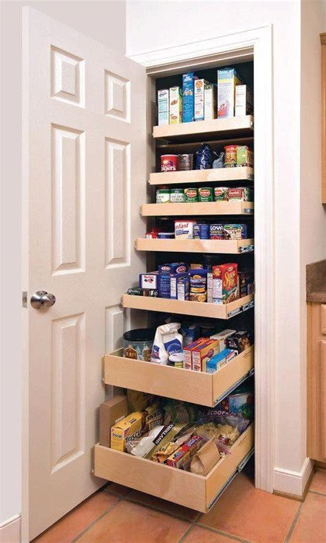 Kitchen Pantry Shelving Ideas Pantry Storage Great Kitchen Ideas Pinterest