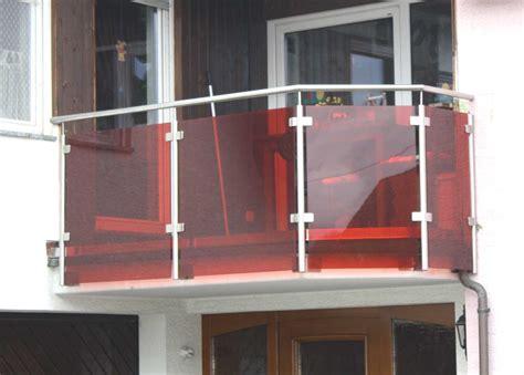 treppengeländer glas bausatz balkongel 228 nder edelstahl glas balkongel nder edelstahl