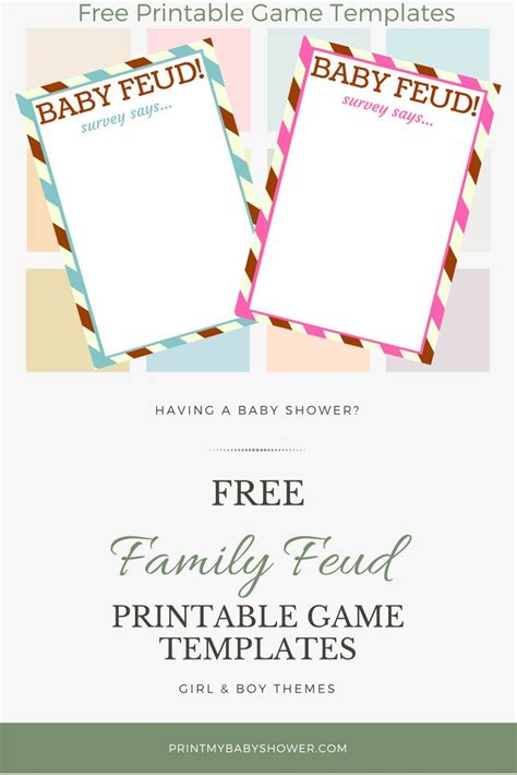 25 Best Ideas About Family Feud Game Questions On Pinterest Printable Family Feud