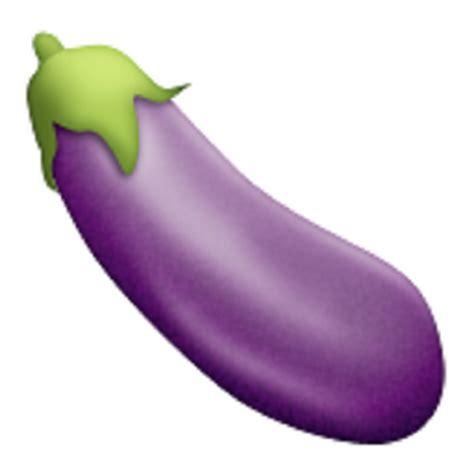 emoji zucchini aubergine emoji u 1f346 u e34a