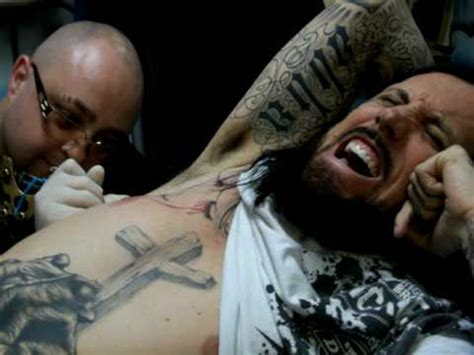 christian tattoo murfreesboro head from korn getting ink in murfreesboro tn 1 of 3 youtube