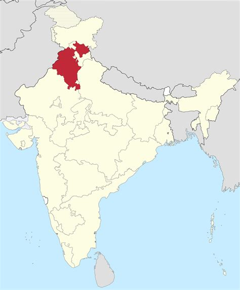 map of punjab east punjab