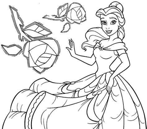 belle reading coloring pages belle coloring pages for best session belle reading