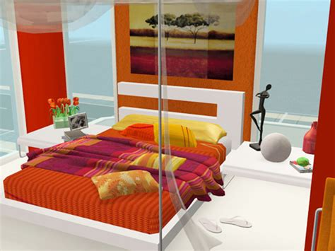 Modern Bedroom Orange Modern Orange Bedroom Designs Ideas Modern Orange Bedroom