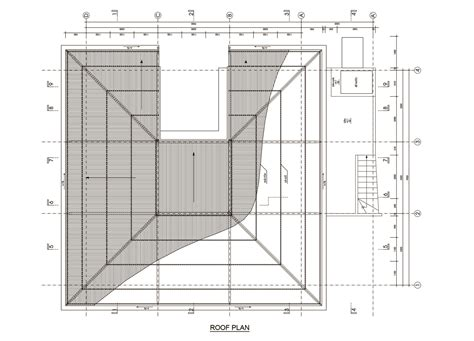 floor plan with roof plan gallery of the gentle house ngoc luong le 26