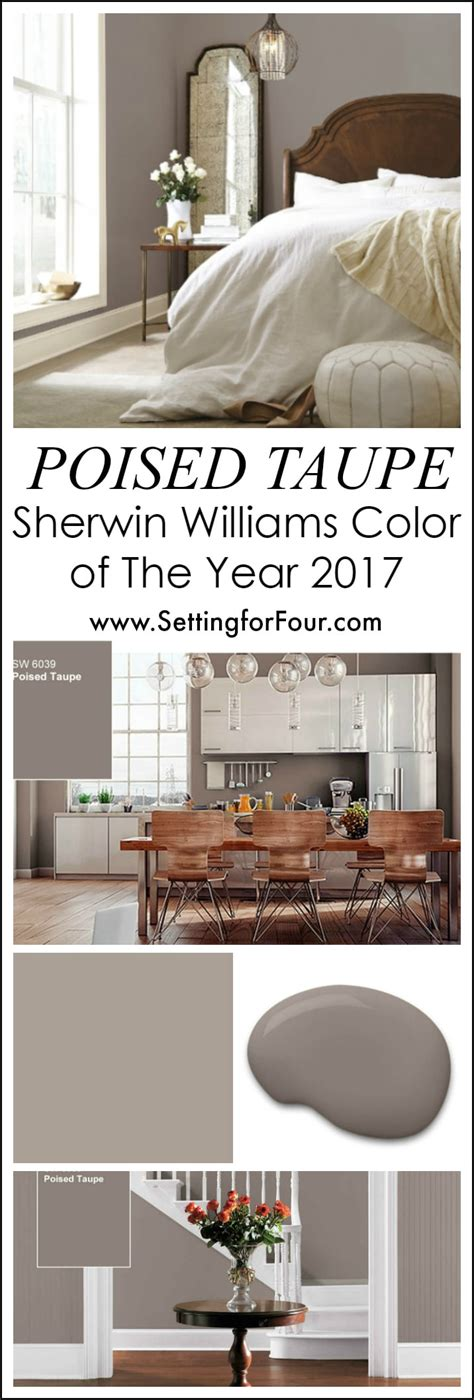 sherwin williams 2017 sherwin williams poised taupe color of the year 2017