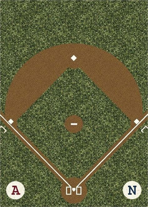 field rug all things baseball pinterest