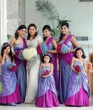 Bridesmaid Dress Patterns In Kerala - 191 best sri lankan wedding idea images on